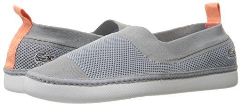 Lacoste Women's Lydro 217 1 Shoe, Grey, 6.5 M US
