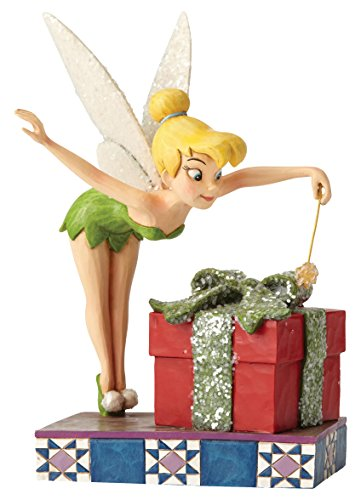 Tinker Bell with Gift Stone Resin Figurine