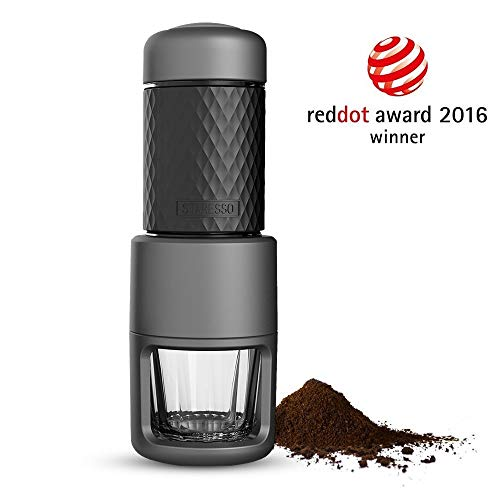 STARESSO Espresso Coffee Maker, Red Dot Award Winner Portable Espresso Cappuccino,Quick Cold Brew Manual Coffee Maker Machines All in One