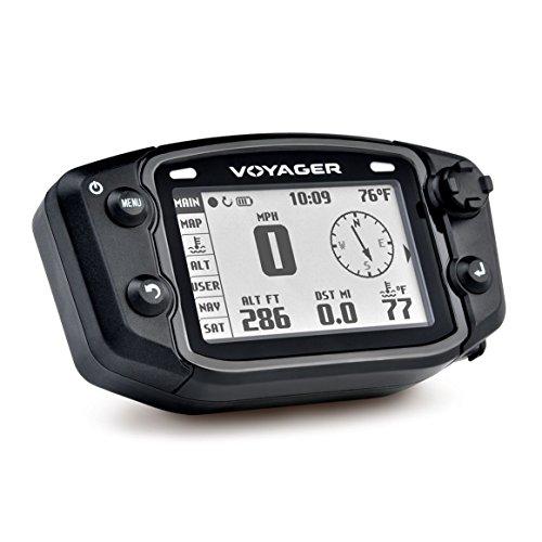 Trail Tech 912-114 Black Voyager GPS Digital Gauge Kit, 2000-2019 Polaris Sportsman Ranger RZR ACE