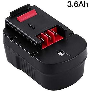 3.6Ah HPB14 Battery for Black and Decker 14.4V Battery FireStorm 499936-34 499936-35 FSB14 A14 BD1444L HPD14K-2 CP14KB HP146F2 CDC140AK HP148F2R