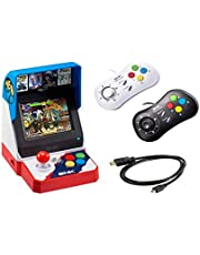 Deal on Neogeo Mini Pro Player Pack Japanese Version - Includes 2 Game Pads (1 Black & 1 White) and HDMI Cable - Neo Geo Pocket. Discount applied in price displayed.
