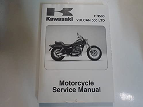 1996 2008 kawasaki en500 vulcan 500 ltd motorcycle service manual rh amazon com