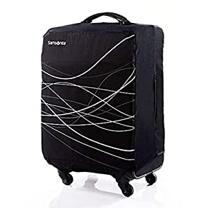 Samsonite Foldable Luggage Cover Large, Black (Black) - 57549-1041
