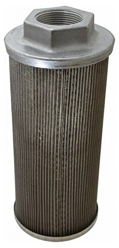 "60 Mesh, 189 LPM, 50 GPM, 4.3"" Diam, Female Suction Strainer without Bypass, 1-1/2 Port NPT, 9.8"" Long -  Flow Ezy Filters"
