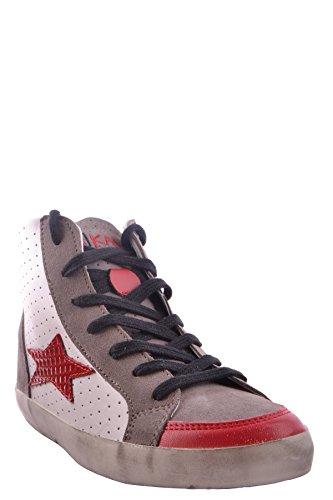 Ishikawa Hi Top Sneakers Donna MCBI156028O Pelle Multicolor