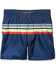 Perry Ellis Men's Printed Water Resistant Swim Shorts