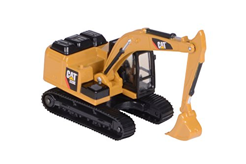 Toy State Caterpillar CAT39511 Cat 320E Excavator 1:90 Scale (Scale Diecast Cat)