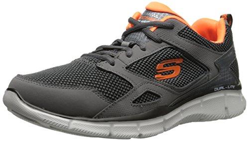 Skechers Equalizer Game Point, Sneakers da Uomo Grigio (CHAR)