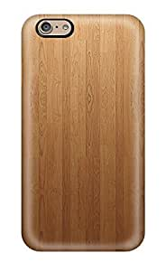 Premium Protection Wood Floor Pattern Case Cover For Iphone 6- Retail Packaging