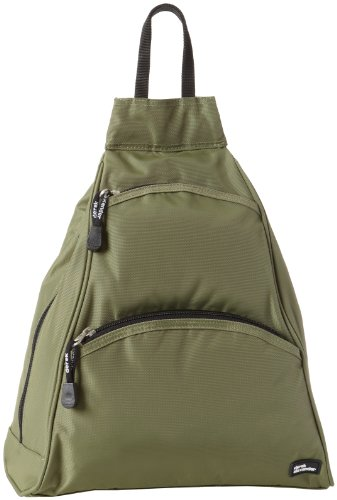 Derek Alexander Small Teardrop Bike Pack, Khaki/Black, One Size