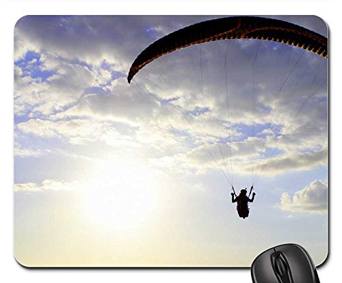 Mouse Pads - Paraglider Wing Paragliding Flying Pilot Sunset