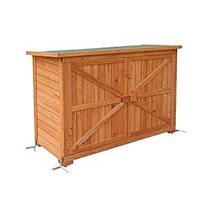 MCombo - Armadio da giardino, in legno 4 spesavip