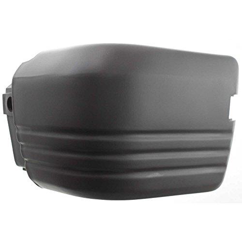 Evan-Fischer EVA1717209457 Bumper End for Isuzu Trooper 84-88 Rear Right Side Plastic Primed