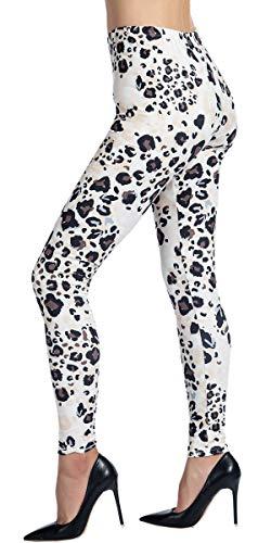 Ndoobiy Printed Leggings Basic Patterned Leggings Workout Leggings Women Girls Spandex Leggings L2 (baowen Light -