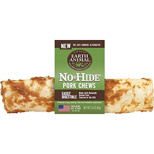 Earth Animal 12 Pack of No-Hide Pork Chews, 11-Inch