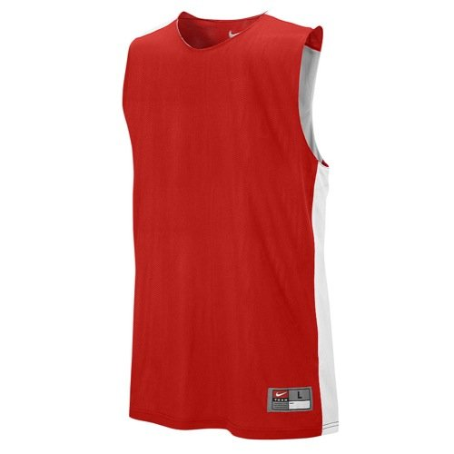 Nike Mens League Reversible Tank Scarlet/White