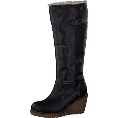 s.Oliver Damenschuhe 5-5-26614-27 Damen Stiefel, Boots Black