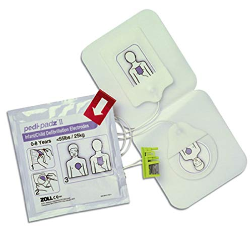 (ZLL Pedi-padz II Pediatric Electrodes for AED)