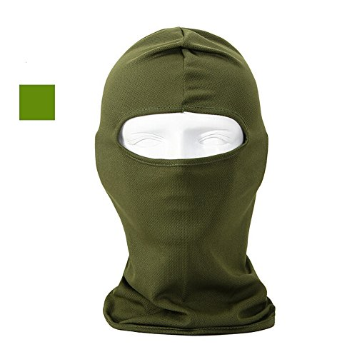 Ezyoutdoor Full Face Mask Motorcycle Breathable Balaclava Cap Headgear Tactical Protect Sunscree Running Mask (Arm (How To Wear A Santa Hat)