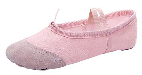 Toddler Pastel Pink Footwear - Optimal Dance Dansoft Ballet Slipper (Toddler/Little Kid/Big Kid) Pastel Pink