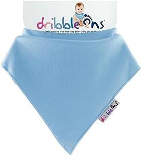 Sock Ons Dribble Ons, Baby Blue - Pack of 6
