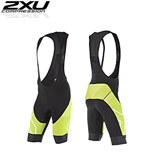 競合他社選手運賃ドーム2XU 2XU PERFORM サイクル ビブショーツ (サイクリングパンツ)