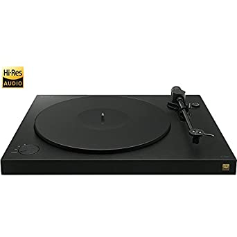 Sony PSHX500 Hi-Res USB Turntable - Black - (Certified Refurbished)