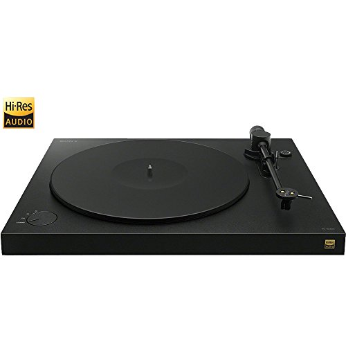 Sony PSHX500 HI-RES USB Turntable - Black - (Certified )