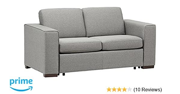 Amazoncom Rivet Elliot Easy Pull Modern Sofa Bed 71w Grey