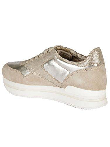 Zapatillas Mujer Cuero HXW2220M468HM10ZI0 Hogan Oro wqXnHaBIH