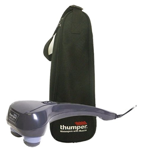 Thumper E501 NA Sport Percussive Massager and Carrying (Thumper Back Massager)