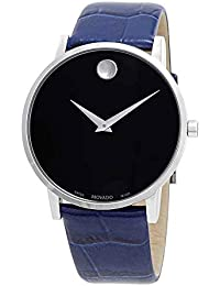 Black Dial Blue Strap Mens Watch 0607221
