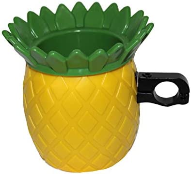 BikeCupHolder – Pineapple Express for Beach Cruiser – Commuter Bicycle – Stroller