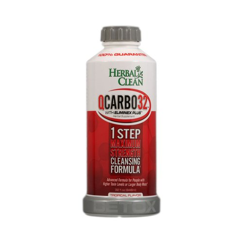 Herbal Clean Q Carbo 32 liquide Tropical 32 oz