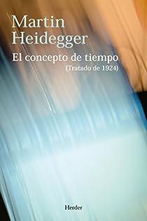 El concepto de tiempo par Heidegger