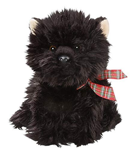 Carl Dick Scottish Terrier Sitting 10 inches, 26cm, Plush Toy, Soft Toy, Stuffed Animal 2618002