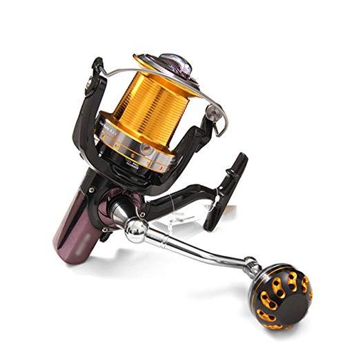 SH-QIAN Carrete De Pesca Rueda Giratoria Relación De Velocidad 5.2: 1 Todo Metal 15 + 1BB Peso Ligero Sin Espacio Equipo De Pesca con Rueda De Pesca De Largo Alcance,11000 por SH-QIAN