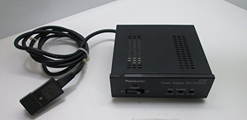 Panasonic Cctv (PANASONIC WV-CD52 120V CCTV Power Supply for CCTV Camera Model WV-CD51)