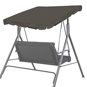 "Amazon.com : BenefitUSA Patio Outdoor 65""x45"" Swing Canopy ..."