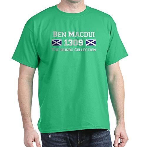 (CafePress 1309 Ben Macdui Dark T Shirt 100% Cotton T-Shirt Kelly Green)