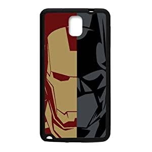 Iron Man and Batman Cell Phone Case for Samsung Galaxy Note3