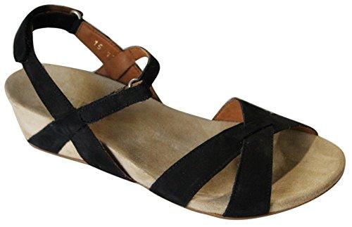 3 Sandal Black Purple nbsp;CM Nubuck benvado Wedge xEqXwvx1