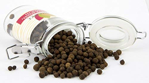 Jamaican Allspice Berries   100% Pure Pimienta dioica   Caribbean Spice   Kosher Certified   (1.5 oz.)