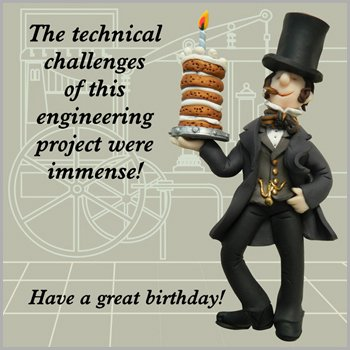 Image Unavailable Not Available For Colour Technical Challenges Brunel Birthday Card