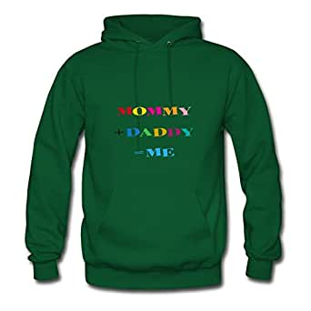 Mommy + Daddy = Me Avengers America Green Hoody Customized X-large For Women Print