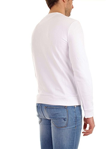 White Xl Uomo Wofel1124 Felpa Optic B Woolrich 4Izvqac