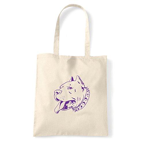 À Pour bag T Porter Pitbull Femme L'épaule Natural Art shirt Sac xt0R11X
