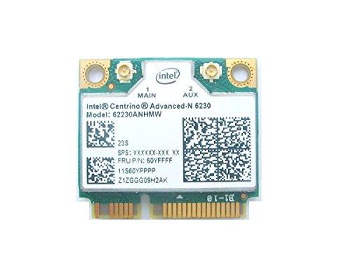 Intel Centrino Advanced-N 6230 wireless card 11S60YPPPP Designed for IBM/Lenovo Laptops ()