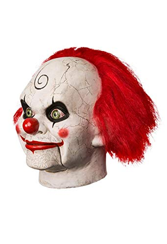 Dead Silence Mary Shaw Clown Adult Latex Costume Mask ()